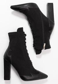 RAID - ABIGAIL - High heeled ankle boots - black - 3