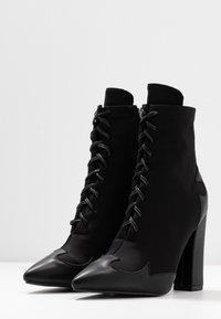 RAID - ABIGAIL - High heeled ankle boots - black - 4