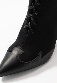 RAID - ABIGAIL - High heeled ankle boots - black - 2