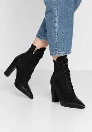 ABIGAIL - High heeled ankle boots - black