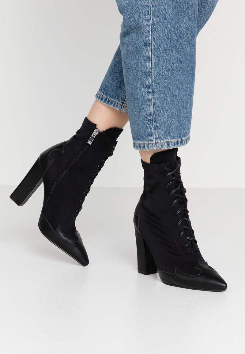 RAID - ABIGAIL - High heeled ankle boots - black