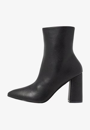 MEADOW - Kotníkové boty - black