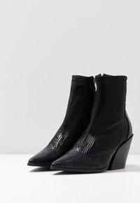 RAID - KELISE - High heeled ankle boots - black - 4