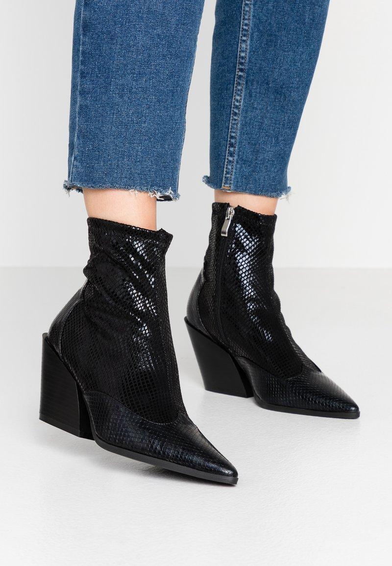 RAID - KELISE - High heeled ankle boots - black