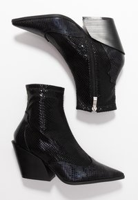 RAID - KELISE - High heeled ankle boots - black - 3