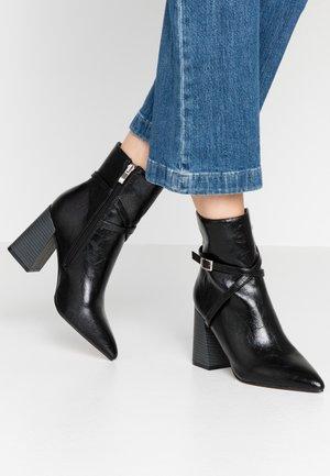 ELYSHA - High heeled ankle boots - black