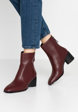 FAUNA - Classic ankle boots - brown