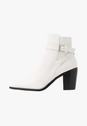 JASON - Ankle boots - white