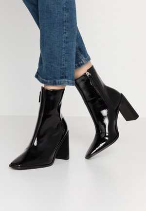 FRANKY - High heeled ankle boots - black