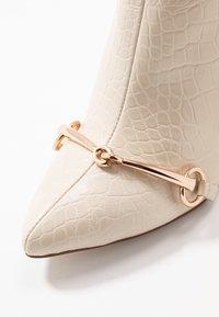 RAID - LAYLAH - Kotníková obuv na vysokém podpatku - nude - 2
