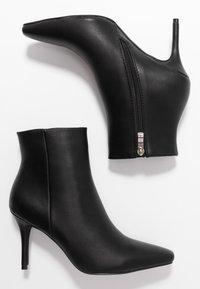 RAID - PRALINE - Kotníková obuv na vysokém podpatku - black - 3