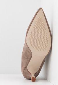 RAID - KAISON - High heeled ankle boots - taupe - 6