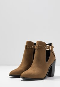 RAID - High heeled ankle boots - taupe - 4