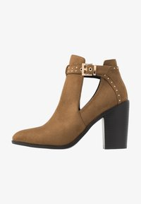 RAID - High heeled ankle boots - taupe - 1