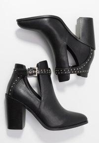 RAID - Kotníková obuv na vysokém podpatku - black - 3
