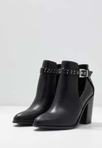 RAID - Kotníková obuv na vysokém podpatku - black - 4
