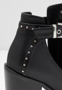 RAID - Kotníková obuv na vysokém podpatku - black - 2