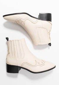 RAID - ORACIA - Ankle boot - cream tumbled - 3