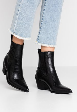 ROCCO - Cowboy/biker ankle boot - black
