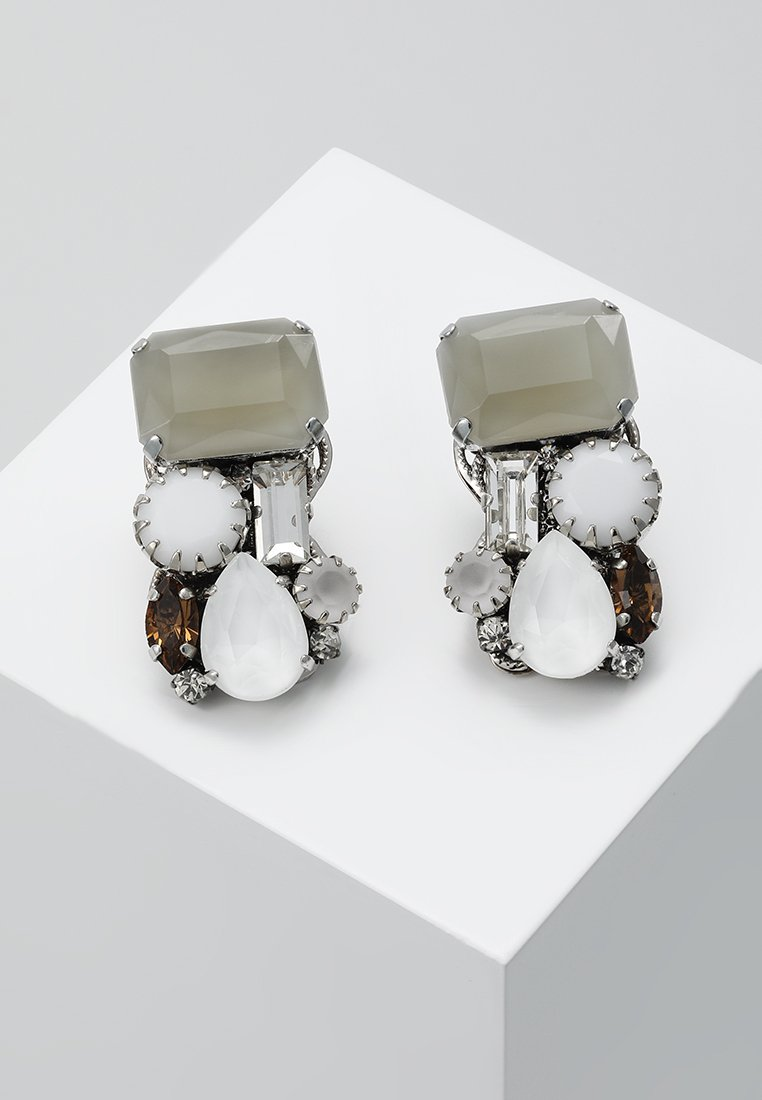 Radà - Earrings - silver-coloured