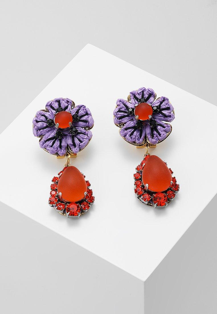 Radà - Boucles d'oreilles - violet orange