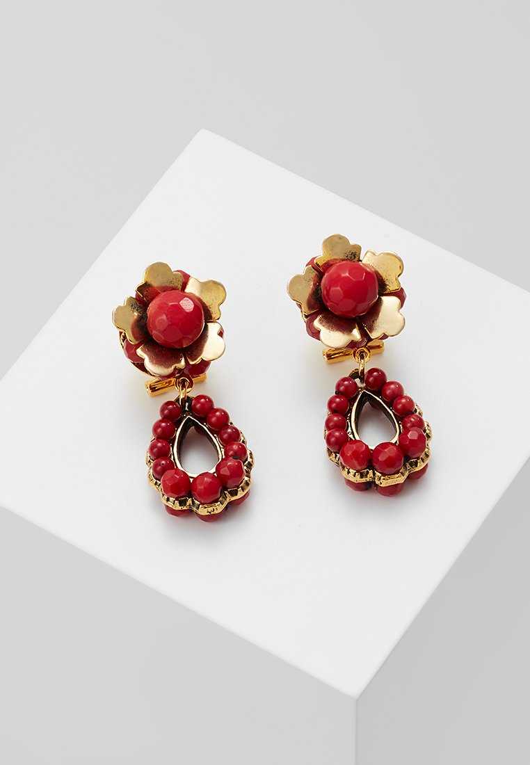 Radà - Earrings - coral mixed
