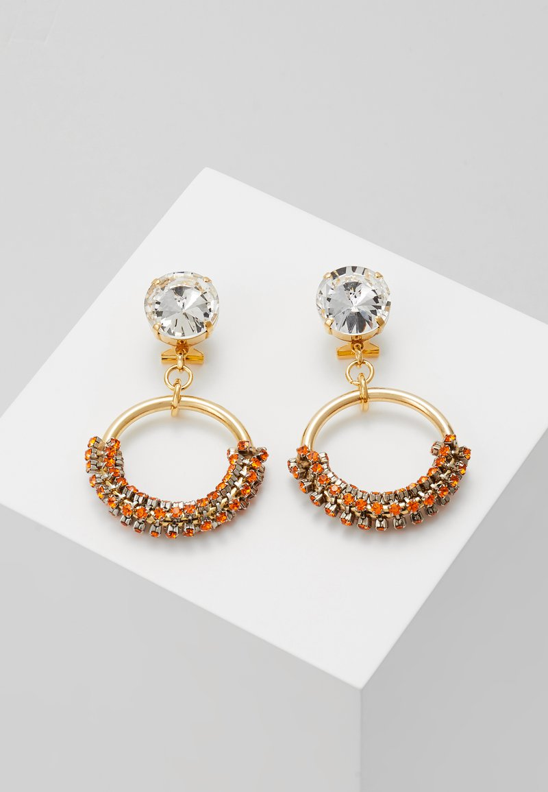 Radà - Earrings - orange