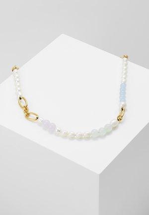 Necklace - blue/multi