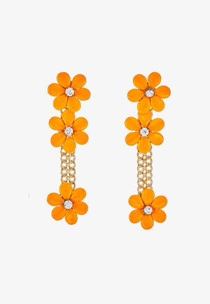 EARRINGS - Øredobber - orange