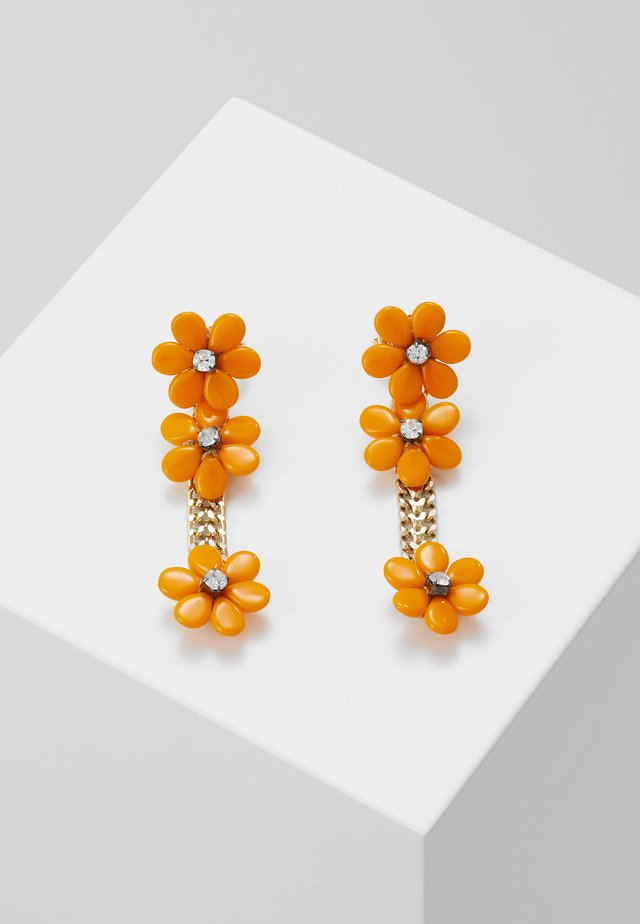 EARRINGS - Øreringe - orange