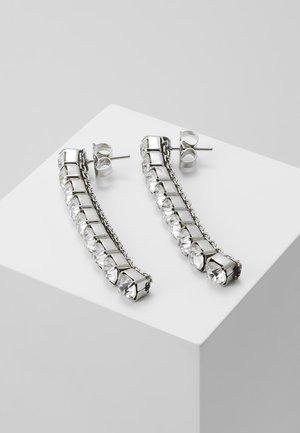 EARRINGS - Earrings - silver-coloured