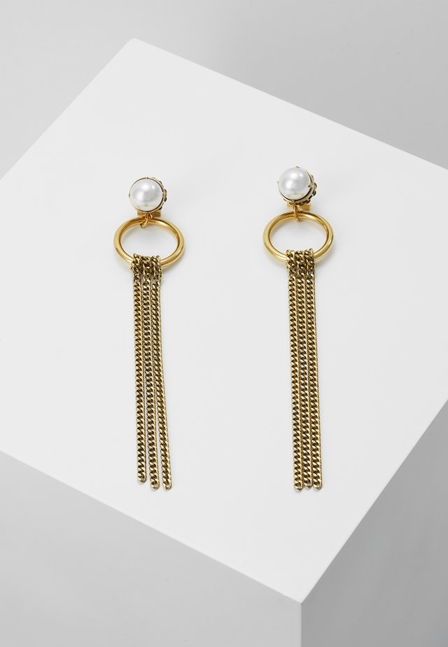 EARRINGS - Ohrringe - gold-coloured