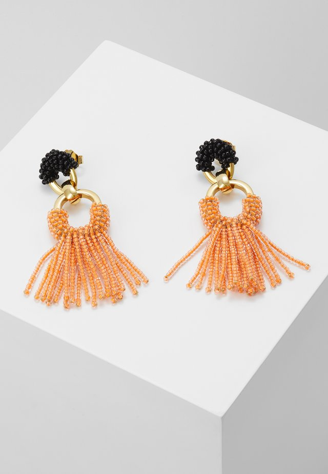 EARRINGS - Earrings - orange