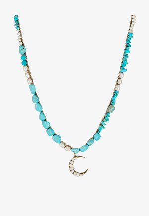 PASTE STONE NECKLACE - Necklace - gold-coloured
