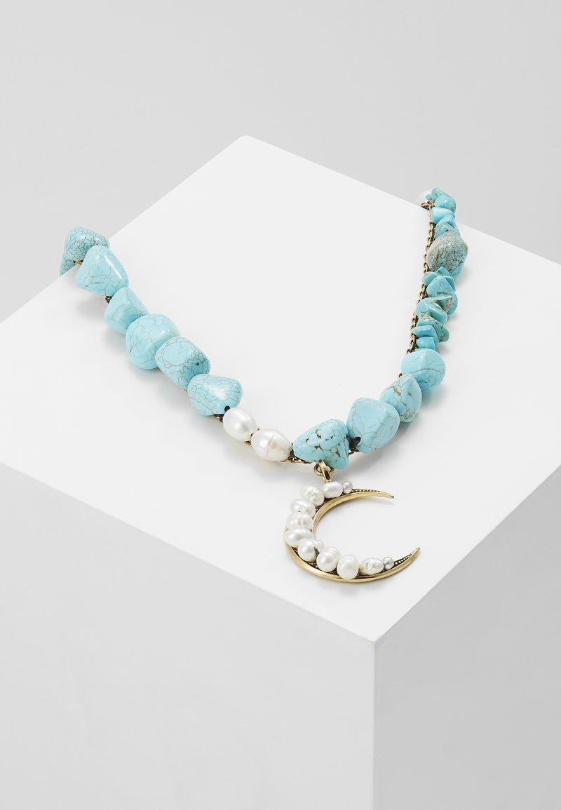 Radà - PASTE STONE NECKLACE - Necklace - gold-coloured