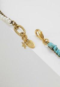 Radà - PASTE STONE NECKLACE - Necklace - gold-coloured - 3