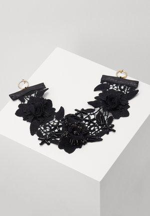 Naszyjnik - black