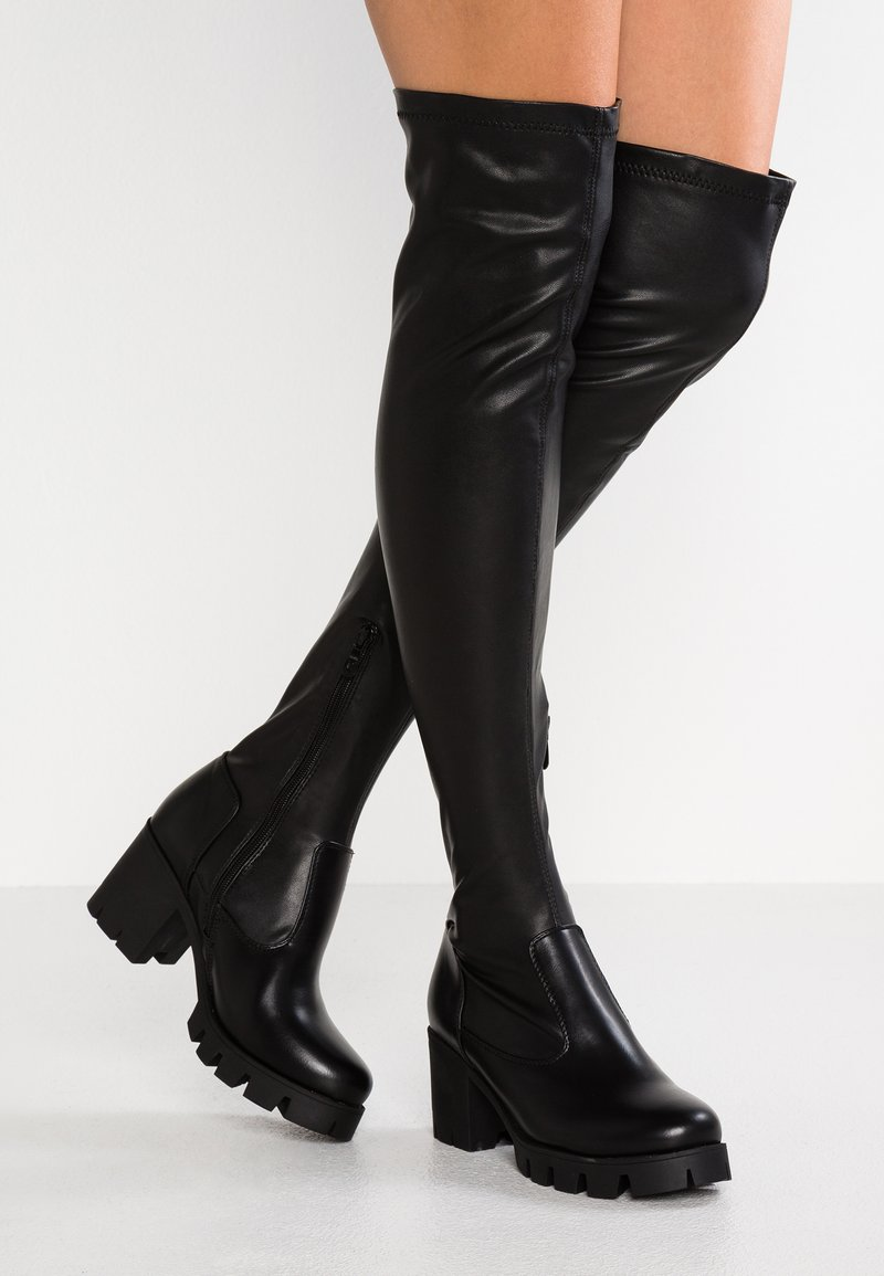 RAID Wide Fit - WIDE FIT AARON - Over-the-knee boots - black