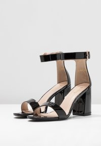 RAID Wide Fit - WIDE FIT BETHAN - High heeled sandals - black - 4