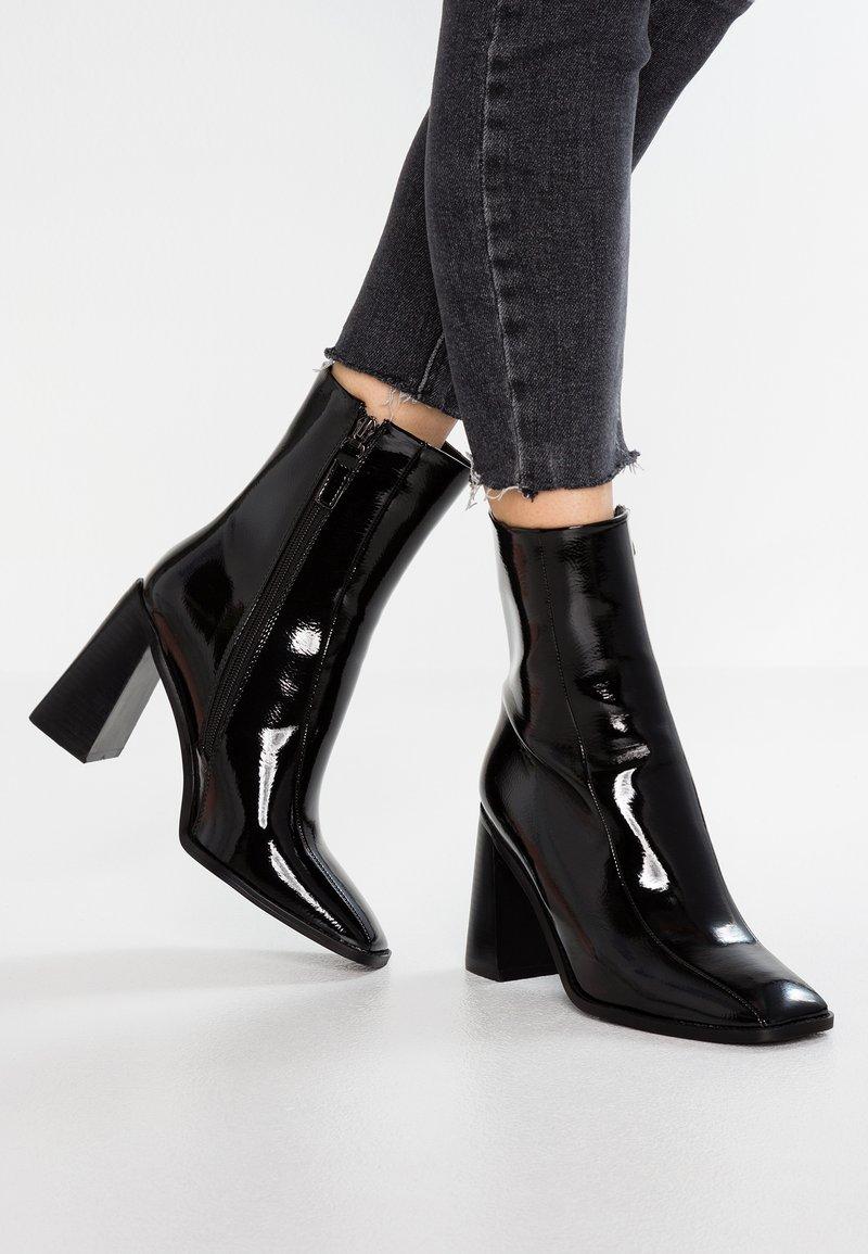 RAID Wide Fit - WIDE FIT KIAYA - High heeled ankle boots - black
