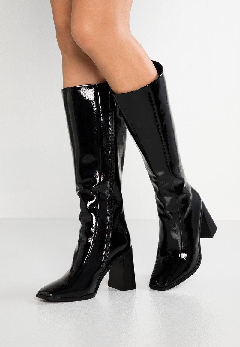 RAID Wide Fit - WIDE  FIT LENORE - High Heel Stiefel - black