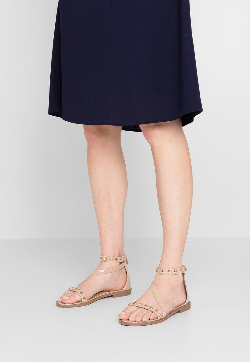 RAID Wide Fit - WIDE FIT CINZIA - Sandals - nude