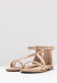RAID Wide Fit - WIDE FIT CINZIA - Sandals - nude - 4