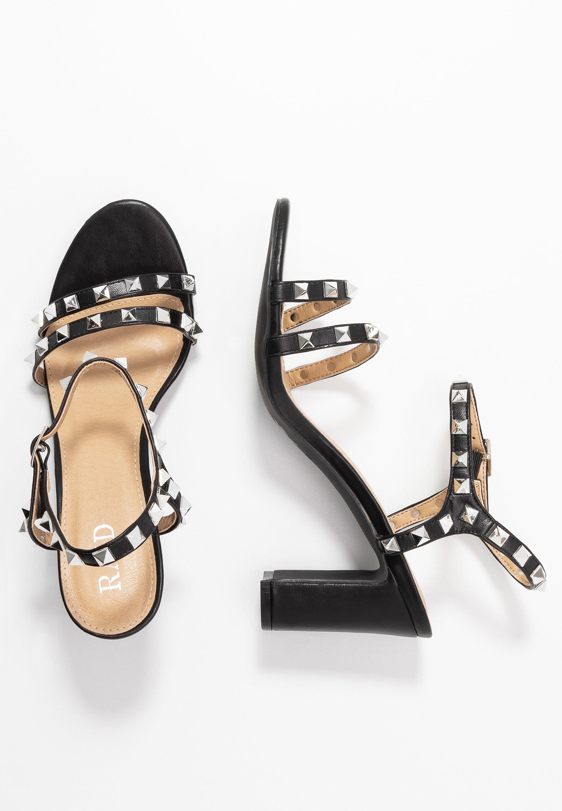 RAID Wide Fit WIDE FIT ALEXA - Højhælede sandaletter / Højhælede sandaler - black BYiR2
