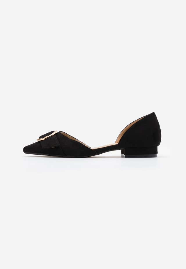 WIDE FIT ANDI - Ballet pumps - black