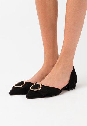 WIDE FIT ANDI - Ballet pumps - black