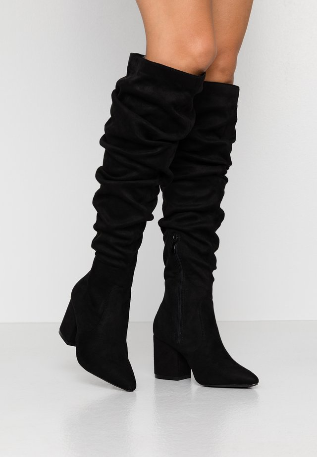 WIDE FIT ANSLEY - Boots - black
