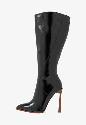 WIDE FIT ARIA - High heeled boots - black
