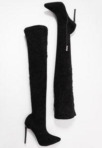 RAID Wide Fit - WIDE FIT MAUREEN - High heeled boots - black - 3