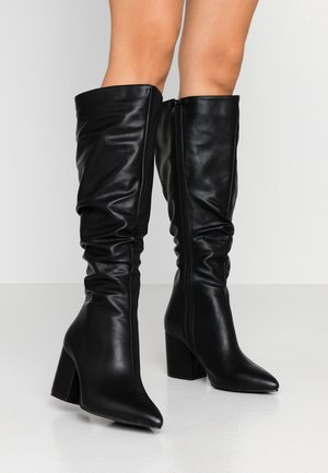 WIDE FIT ANNABEL - Boots - black